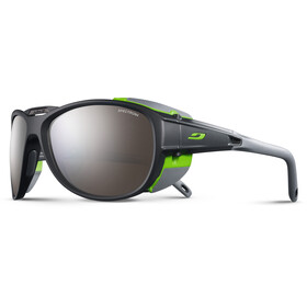 Julbo Explorer 2.0 Spectron 4 Sunglasses Matt Gray/Green-Brown Flash Silver